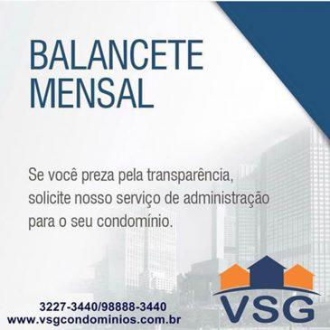 VSG sempre preza pela trasparência