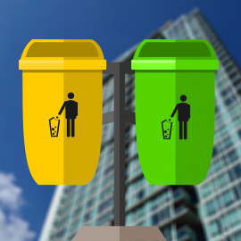 É importante saber descartar o lixo corretamente