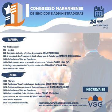I CONGRESSO MARANHENSE DE SÍNDICOS E ADMINISTRADORAS