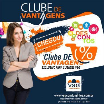 VSG CONDOMÍNIOS APRESENTA CARTÃO CLUBE DE VANTAGENS AOS SEUS CLIENTES