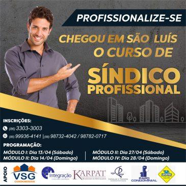 CURSO DE SÍNDICO PROFISSIONAL EM SÃO LUIS – MA