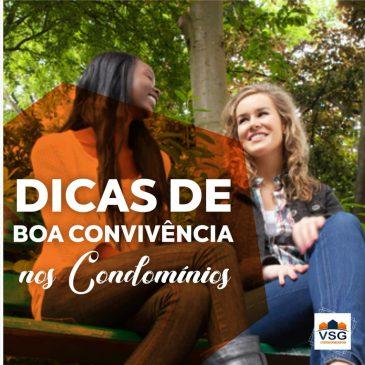 DICA DE BOA CONVIVÊNCIA