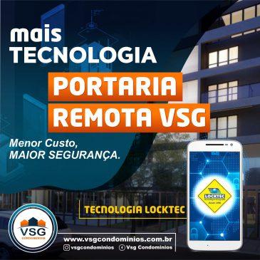 A VSG CONDOMÍNIOS OFERECE O SERVIÇO DE PORTARIA REMOTA DE FORMA DIFERENCIADA