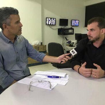 """DIRETOR GERAL DA VSG PARTICIPA DO QUADRO """"VOCÊ QUER SABER"""" DA TV MIRANTE"""