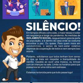 SILÊNCIO E O ISOLAMENTO SOCIAL NOS CONDOMÍNIOS
