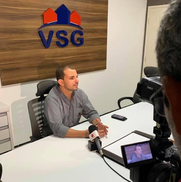 DIRETOR GERAL DA VSG CONCEDE ENTREVISTA EXPLICANDO SOBRE A REABERTURA DAS ÁREAS COMUNS