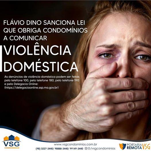 LEI SOBRE VIOLÊNCIA DOMÉSTICA NOS CONDOMÍNIOS, É SANCIONADA PELO GOVERNADOR DO MARANHÃO